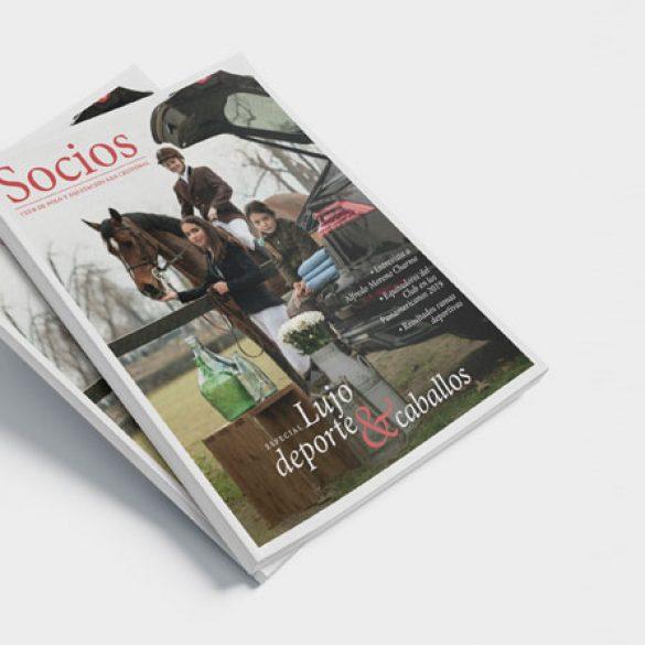 Revista Socios del Club de Polo y Equitación San Cristóbal